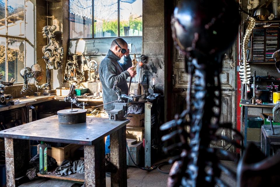 Sculpteur, Meuse