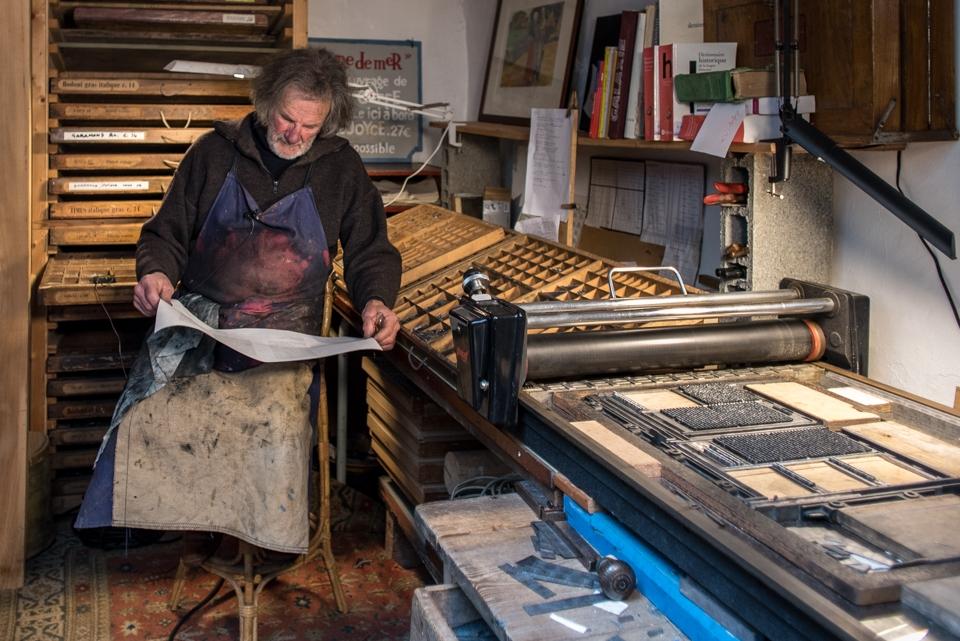 Typographe, Bretagne