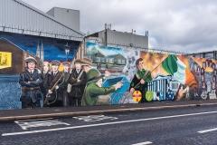 Belfast, fresques murales